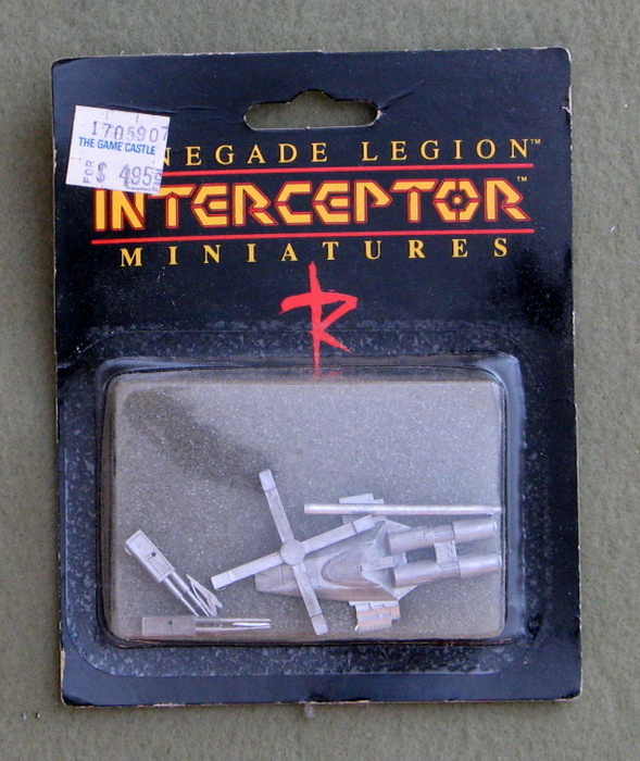 Image for Avenger: Heavy Fighter (Renegade Legion Miniatures)