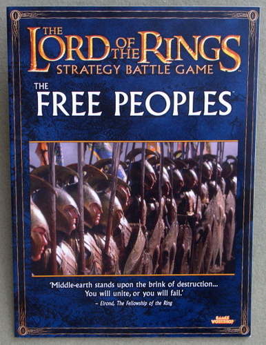 Image for The Free Peoples (Lord of the Rings: Strategy Battle Game)