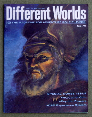 Image for Different Worlds Magazine, Issue 26