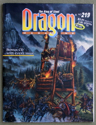 Image for Dragon Magazine, Issue 219