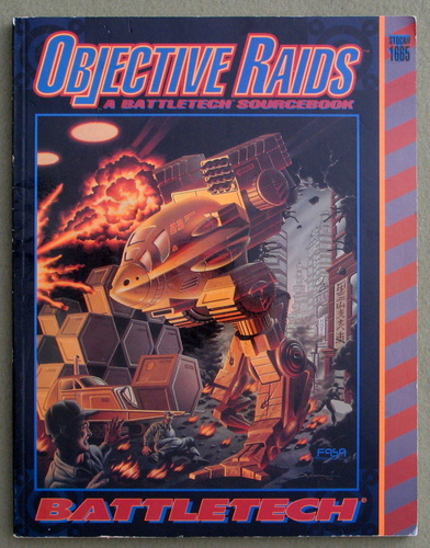 Image for Objective Raids: A Battletech Sourcebook