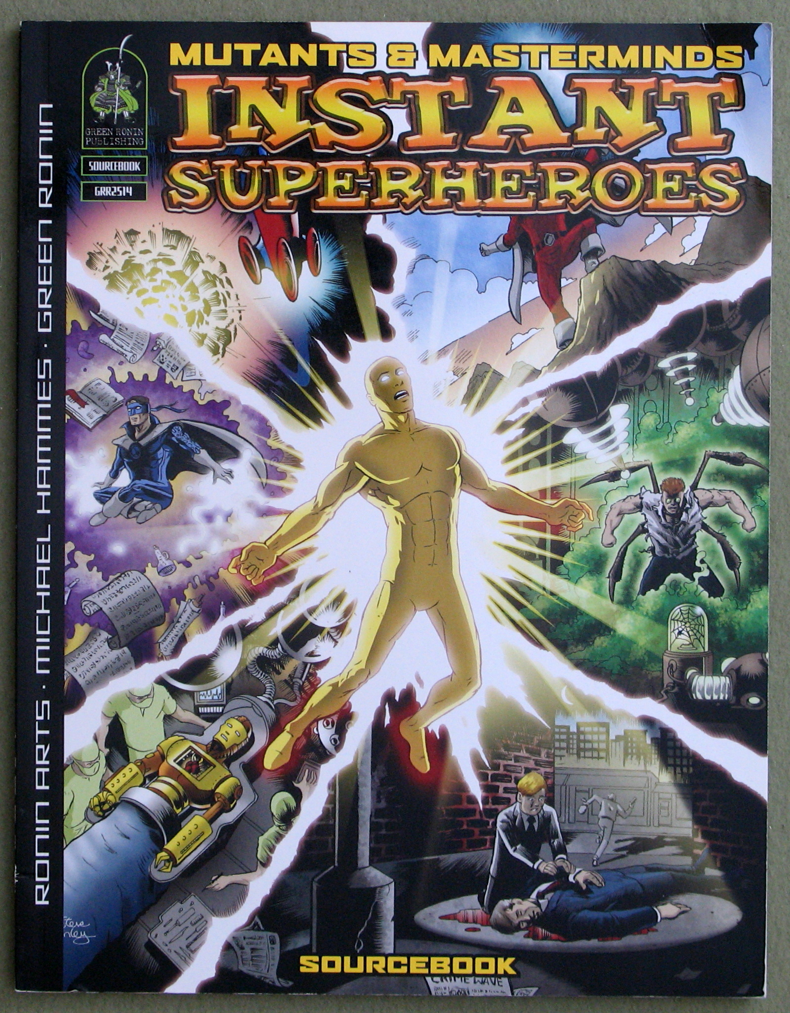 Image for Instant Superheroes Sourcebook (Mutants & Masterminds)
