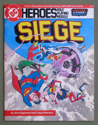 Image for Siege (DC Heroes role playing game)