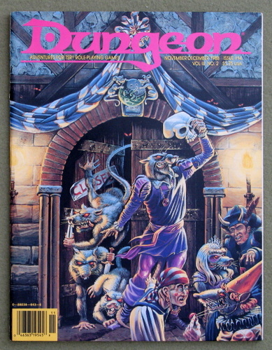 Image for Dungeon Magazine, Issue 14