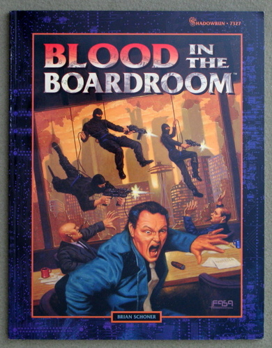 Image for Blood in the Boardroom (Shawdowrun)
