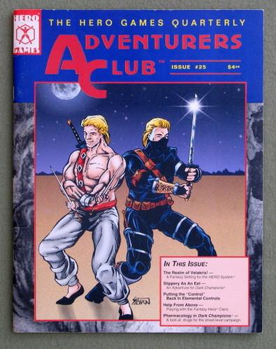 Image for Adventurers Club: The Hero Games Quarterly #25 (Winter 1994)