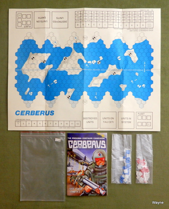 Image for Cerberus: The Proxima Centauri Campaign (Task Force Game #3)
