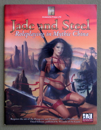 Image for Jade & Steel: Role-Playing In Mythic China