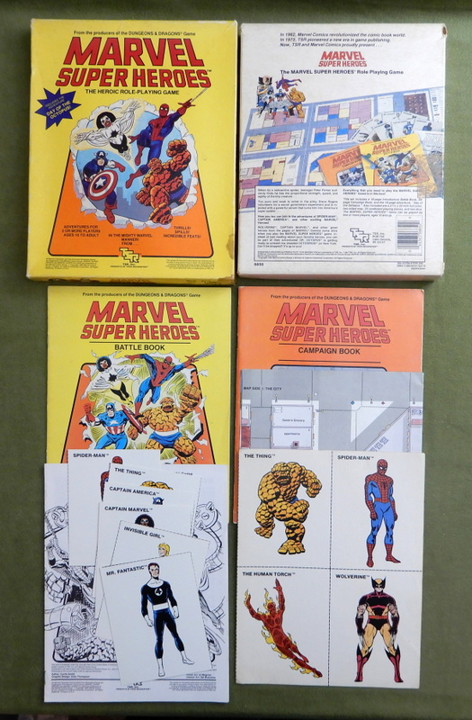 Image for Marvel Super Heroes: The Heroic Roleplaying Game - INCOMPLETE