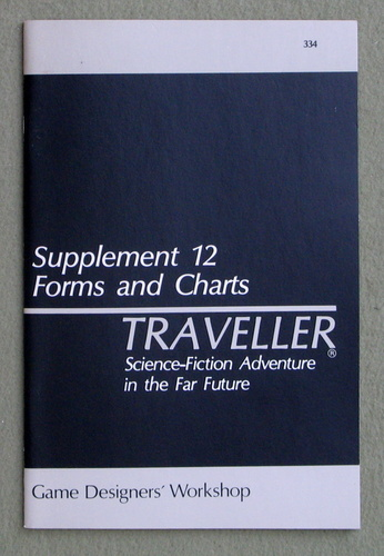 Image for Traveller Supplement 12: Forms and Charts