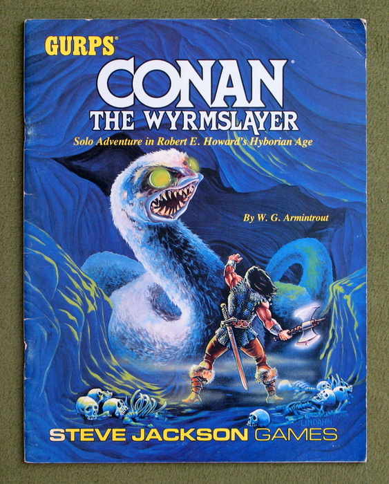 Image for Conan: The Wyrmslayer (GURPS)