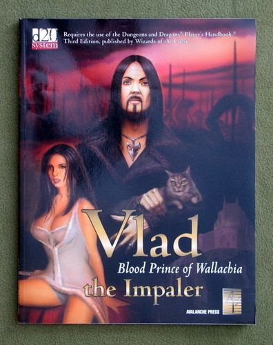Image for Vlad The Impaler: Blood Prince Of Wallachia (Dungeons & Dragons: D20 system)