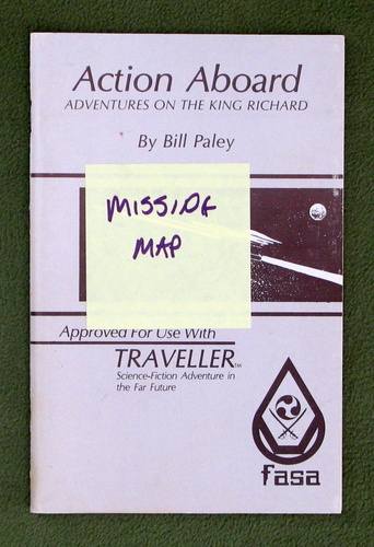 Image for Action Aboard (Traveller) - NO MAP