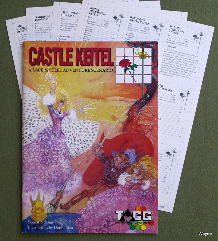Image for Castle Keitel (Lace & Steel)