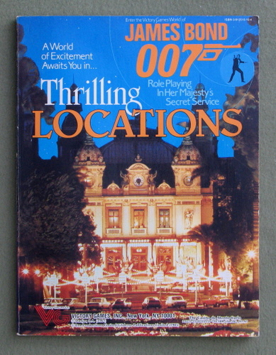 Image for Thrilling Locations (James Bond 007 role playing game)