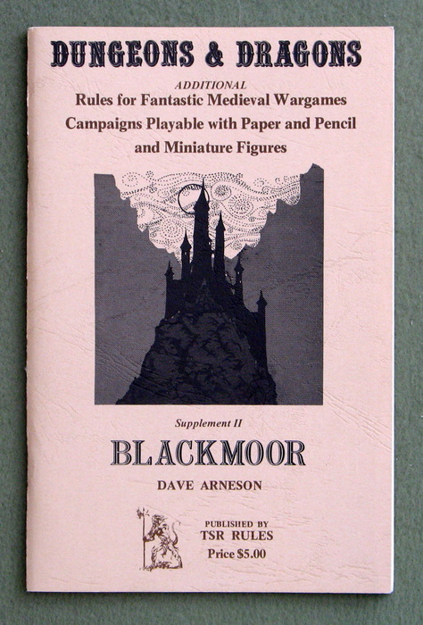 Image for Dungeons & Dragons Supplement II: Blackmoor - 1ST PRINT