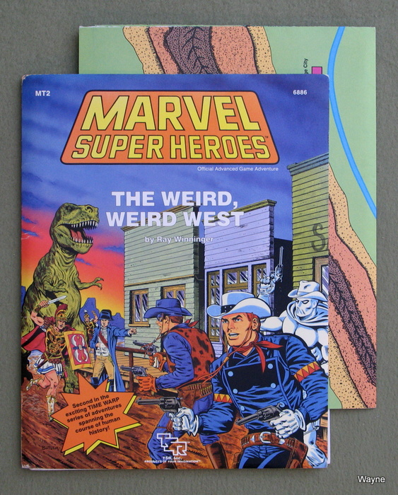 Image for The Weird, Weird West (Marvel Super Heroes Adventure MT2)