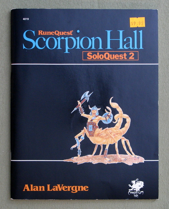 Image for Scorpion Hall: Soloquest 2 (Runequest)