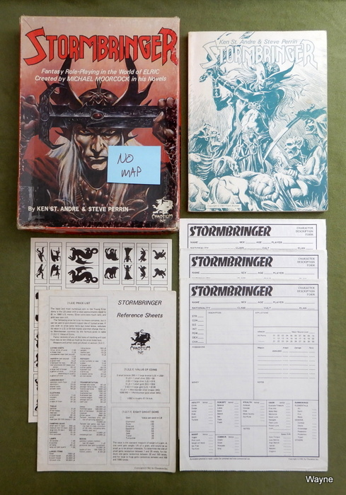 Image for Stormbringer (Elric RPG, 1st Edition) - NO MAP
