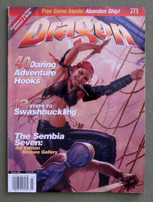 Image for Dragon Magazine, Issue 273