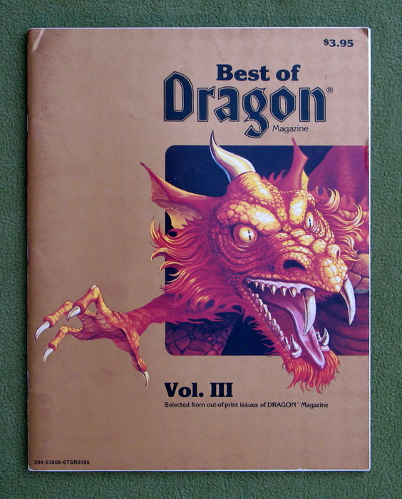 Image for Best of Dragon Magazine, Vol. III