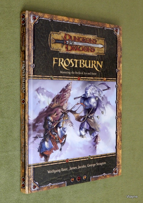 Image for Frostburn: Mastering the Perils of Ice and Snow (Dungeons & Dragons d20 3.5 Fantasy Roleplaying Supplement)