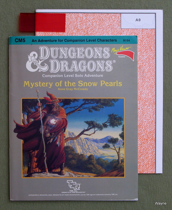 Image for Mystery of the Snow Pearls (Dungeons & Dragons Module CM5)