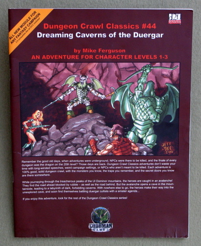 Image for Dreaming Caverns of the Duergar (Dungeon Crawl Classics 44)