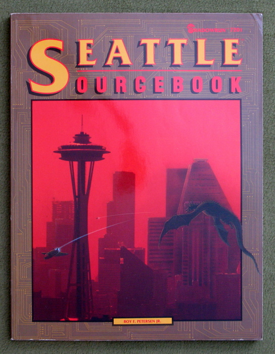 Image for Seattle Sourcebook (Shadowrun)