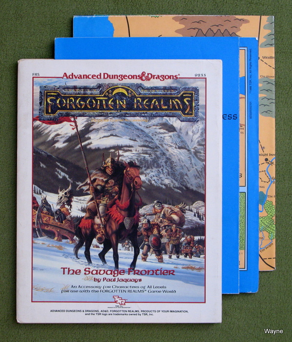 Image for The Savage Frontier (Advanced Dungeons & Dragons : Forgotten Realms Accessory FR5) - PLAY COPY