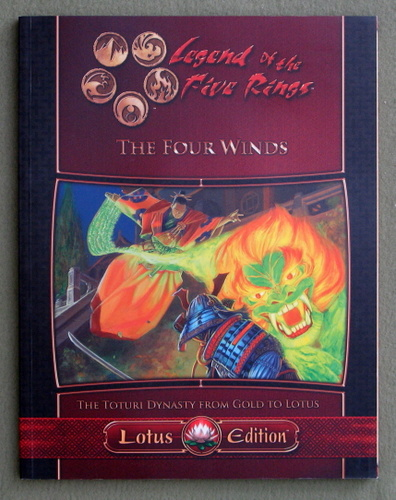 Image for The Four Winds: The Toturi Dynasty from Gold to Lotus (Legend of the Five Rings)