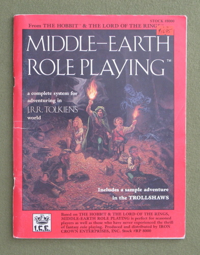 Image for Middle-earth Role Playing (1st edition)