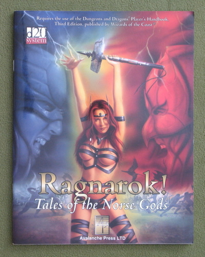 Image for Ragnarok! Tales of The Norse Gods (D20 system)