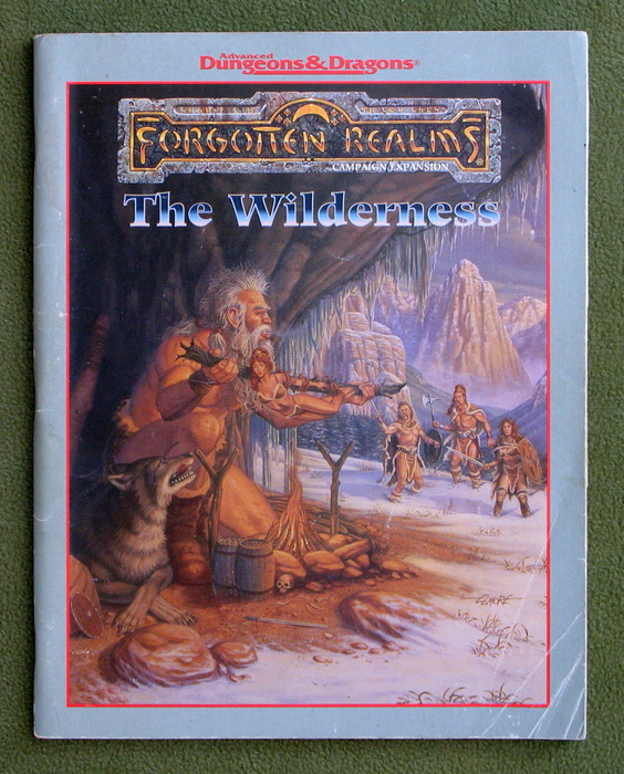 Image for The North: The Wilderness Book (Forgotten Realms) - PLAY COPY