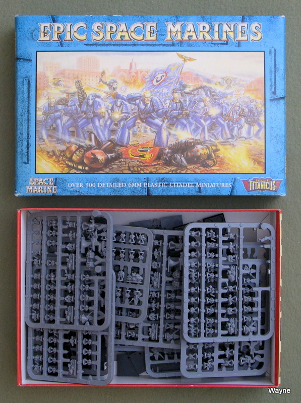 Image for Space Marines: Miniatures For Use With Adeptus Titanicus & Space Marine (Epic Battles)