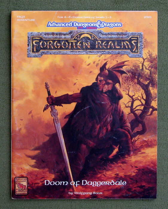 Image for Doom of Daggerdale (Advanced Dungeons & Dragons: Forgotten Realms Module FRQ3) - PLAY COPY