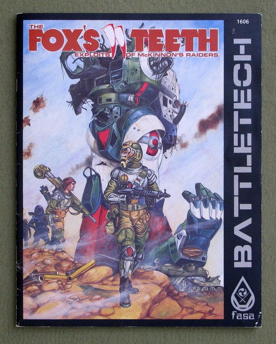 Image for The Fox's Teeth: Exploits of McKinnon's Raiders (Battletech)