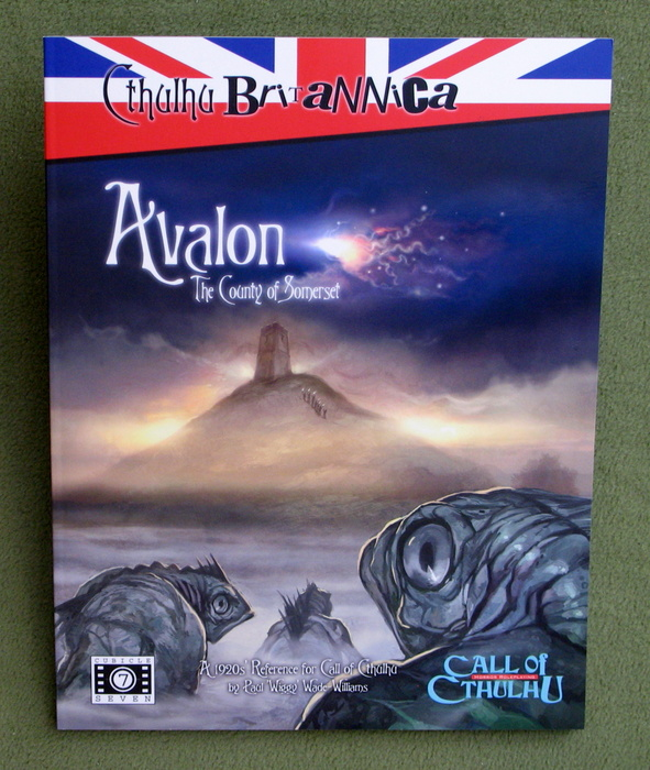 Image for Cthulhu Britannica: Avalon - The County of Somerset (Call of Cthulhu 1920s Roleplaying)