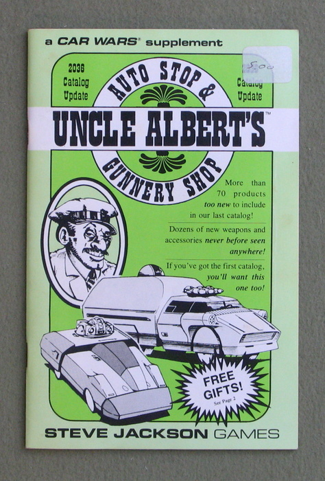 Image for Uncle Albert's Auto Stop & Gunnery Shop: 2036 Catalog Update (Car Wars)