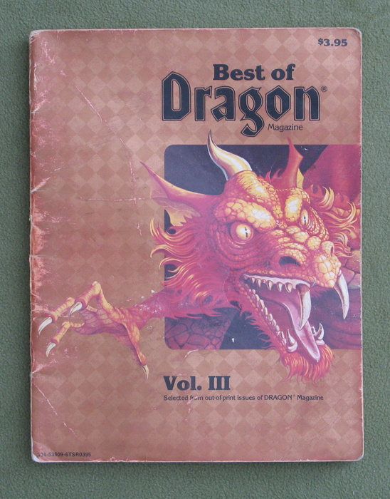 Image for Best of Dragon Magazine, Vol. III - HEAVY WEAR