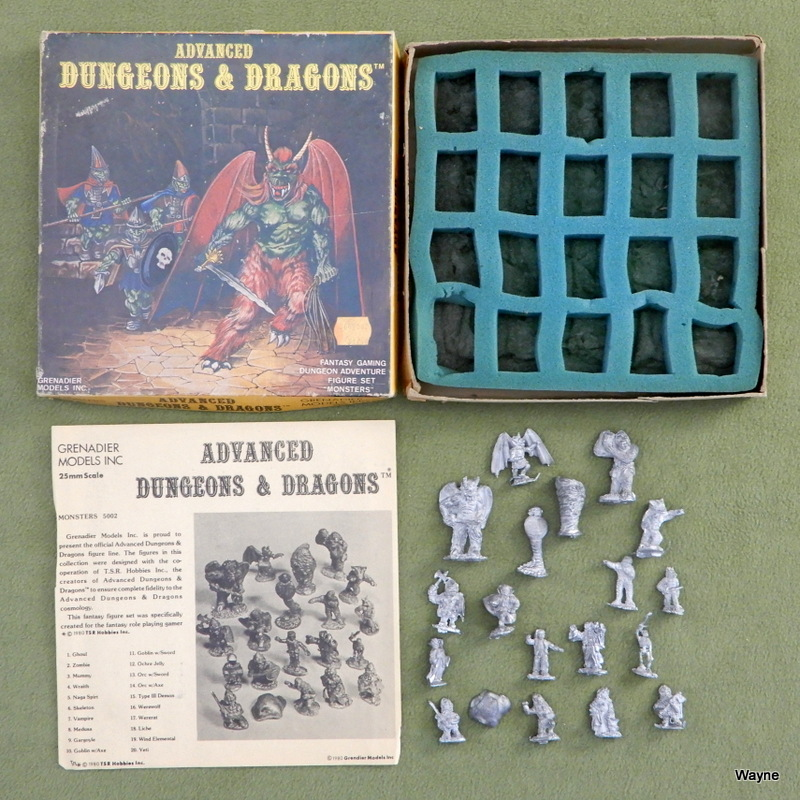 Image for Monsters: Advanced Dungeons & Dragons Metal Miniature Figure Set (25mm Scale)