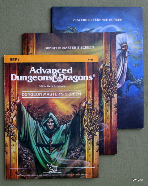 Image for Dungeon Masters Screen (Advanced Dungeons & Dragons, 1st Edition, revised)