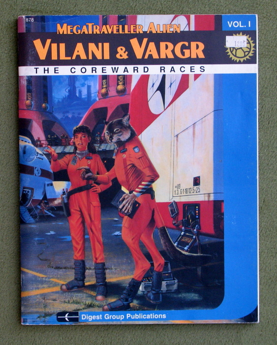 Image for Vilani & Vargr: The Coreward Races (Megatraveller Alien Series, Vol. 1)