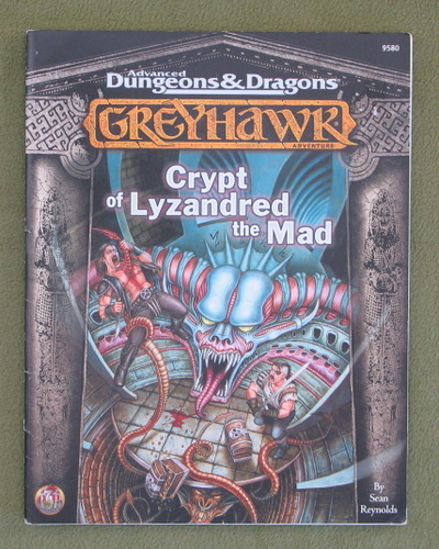 Image for Crypt of Lyzandred the Mad (Advanced Dungeons & Dragons: Greyhawk)