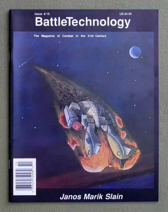 Image for BattleTechnology Magazine, Issue 10 (Battletech)
