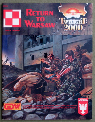 Image for Return to Warsaw (Twilight: 2000)