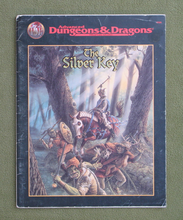 Image for The Silver Key (Advanced Dungeons & Dragons) - PLAY COPY