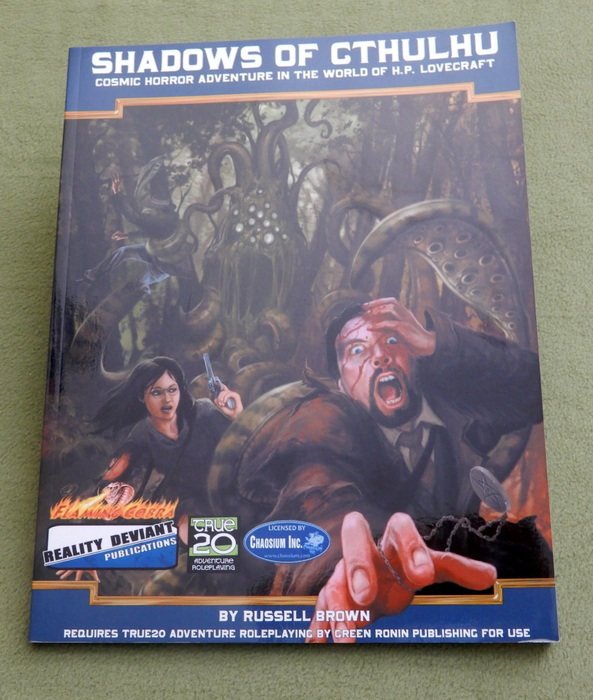 Image for Shadows of Cthulhu: Cosmic Horror Adventure in the World of H.P. Lovecraft (True20)