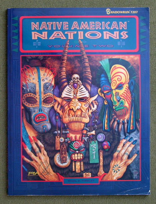 Image for Native American Nations, Volume 2 (Shadowrun)