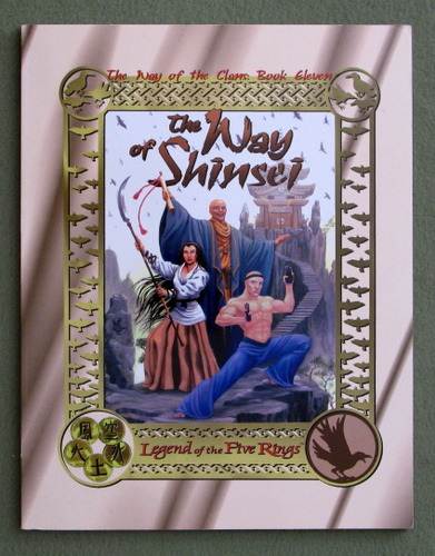 Image for The Way of the Shinsei (Legend of the Five Rings: The Way of the Clans, Book 11)
